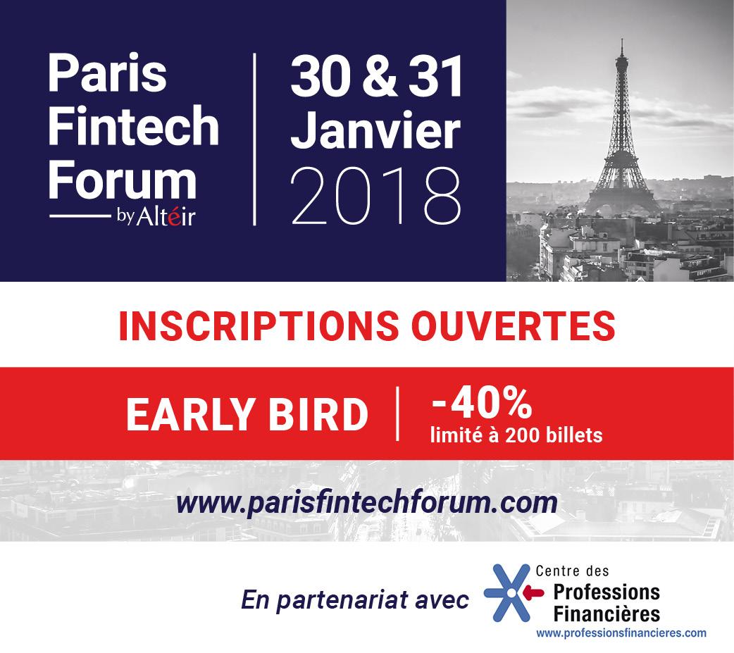 Participez au Paris Fintech Forum 2018 !