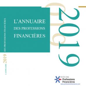 ANNUAIRE DES PROFESSIONS FINANCIÈRES 2019