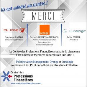 Nouveaux membres juin 2016 centre des professions financières