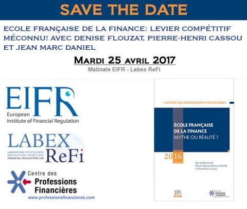 matinale année des professions financières 2016 - EIFR - labex refi