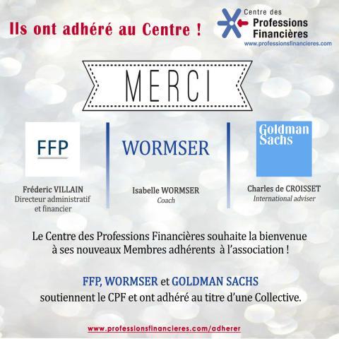 Nouveaux Membres du CPF - Mars 2018