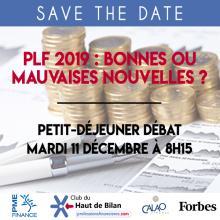 LOI DE FINANCES 2019 AVEC LE CLUB DU HAUT DE BILAN