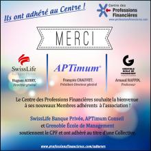 Nouveaux Membres du CPF - Avril 2017