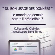Colloque CILT LE BON USAGE DES DONNÉES